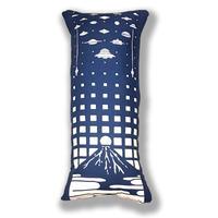 手拭いリメイク抱き枕カバー/UFOサミットin富士山