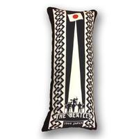 手拭いリメイク抱き枕カバー/THE BEATLES オフィシャル『ザ・ビートルズ来日』