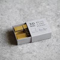 BRASS カードスタンド / 20set