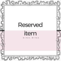 ♡Reserved item♡