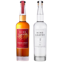 【2本セット】国産ラム酒 NINE LEAVES ALMOST SPRING Cabernet Sauvignon Cask &NINE LEAVES CLEAR テイスティングセット