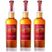 【3本セット/送料無料】国産ラム酒 NINE LEAVES ALMOST SPRING Cabernet Sauvignon Cask(オルモストスプリング〜カヴェルネソーヴィニヨンカスク〜)