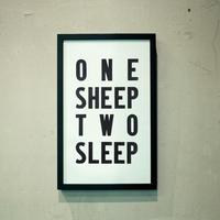 ONE SHEEP TWO SLEEP