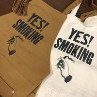 APRON(YES! SMOKING)NATURAL / CAMEL