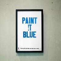 PAINT !T BLUE