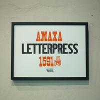AMAXA LETTERPRESS 1591