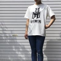 GUTENBERG T-shirt(ヴィンテージオフホワイト)