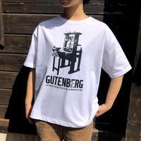 GUTENBERG T-shirt(白)
