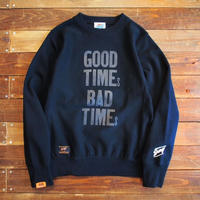 """【DARGO × NINE LETTER PRESS】 """"GOOD TIMES, BAD TIMES"""" Heavy Weight Crew Sweat"""