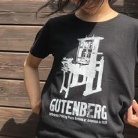 GUTENBERG T-shirt(黒)