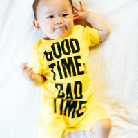 GOODTIMEs BADTIMEs BABY ROMPERS