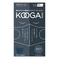 KOOGAマスク 3枚set  ネイビー Msize