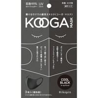 KOOGAマスク 3枚set  クールブラック Msize