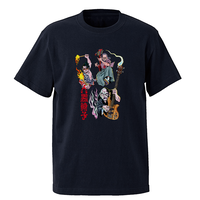 怪談レトロTシャツ(ブラック)