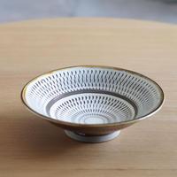 小鹿田焼(柳瀬晴夫窯) 7寸中深皿