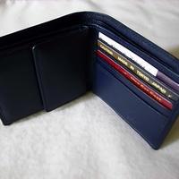 ウォレットコインケース付き仕様 ブルー