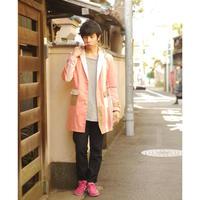 肩くるまジャケット  ~ピンク~