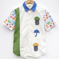 傘きのこシャツ