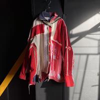 """""""赤に捧ぐセーラードレス"""" Passing, Leaving, Overlapping, Reuniting, Red Sailor color Dress"""