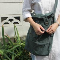 """""""その鞄はいつか誰かを抱きしめていた服でした"""" Vintage wool military coat rebuild bag"""