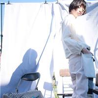 いつかの青いリボンと後付ポケットのつぎはぎデニム・パンツ / nisai