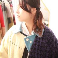 もうすれ違わない二人のボタンホールと青いボアコート / nisai