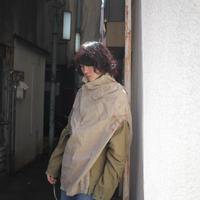 恋は枯葉色、ボロ、色汚れのプルオーバー/スカート