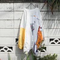 """""""つぎはぎのオリンピック 2.0"""" Olympic Dress of rebuilded from vintage sweatshirts"""