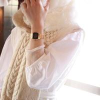 白に抱かれた彼女のマフラー / nisai