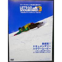 【LET'S GO SNOWBOARD 3】 DVD