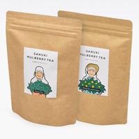 ギフトボックス入りお徳用さぬきマルベリーティー【桑茶ティーバッグ・桑茶レモンティーバッグ、2袋セット】