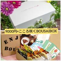 【超お得送料】9000円コースとこころ咲くBOUSAIBOX