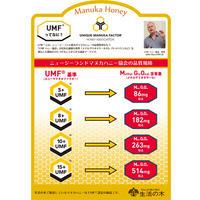 風邪、インフルエンザ撃退!生活の木  マヌカハニー UMF15+ お得500g