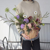 fresh flower arrangement 店頭受取