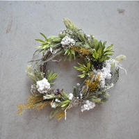 mother's day wreath green  店頭受取