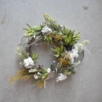 mother's day wreath green 宅配便