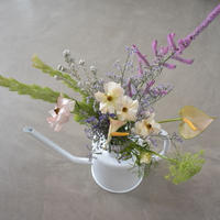 watering can arrangement 宅配便