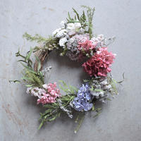 mother's day wreath pink 宅配便