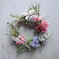 mother's day wreath pink  店頭受取