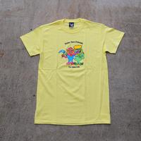 The Quiet Life / Friends Tee  ( Body Color - Lemon Yellow / Black )