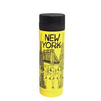 真空シティボトル AY010-250-2|NEWYORK|イエロー×ブラック(20個セット)