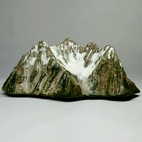 穂高岳  Mt.Hotaka  (h4.5×w11.5×d9.5cm)