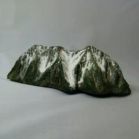 白馬岳  Mt.Shirouma ( h4×w15×d7.5cm)