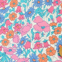 Poppy and Daisy - Pink and Blue