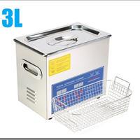 超音波洗浄器 3L デジタル ヒーター/タイマー付き レコード洗浄サイズ
