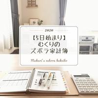 【5日始まり】2020むくりのズボラ家計簿