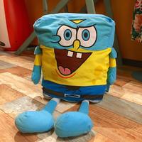 Sponge Bob Jumbo Plush  Super Hero