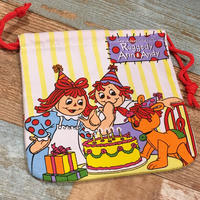 Raggedy Ann&Andy Drawstring Bag