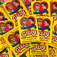 GREASE Topps card
