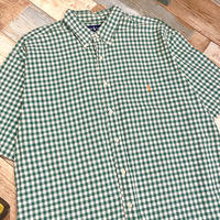 Ralph Lauren Big Shirt Green Check